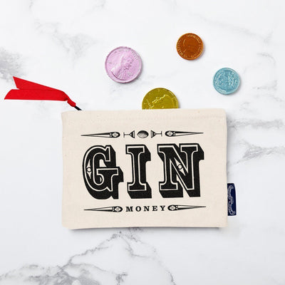 Gin Money Purse (Slight Second) - Chase and Wonder - Proudly Made in Britain