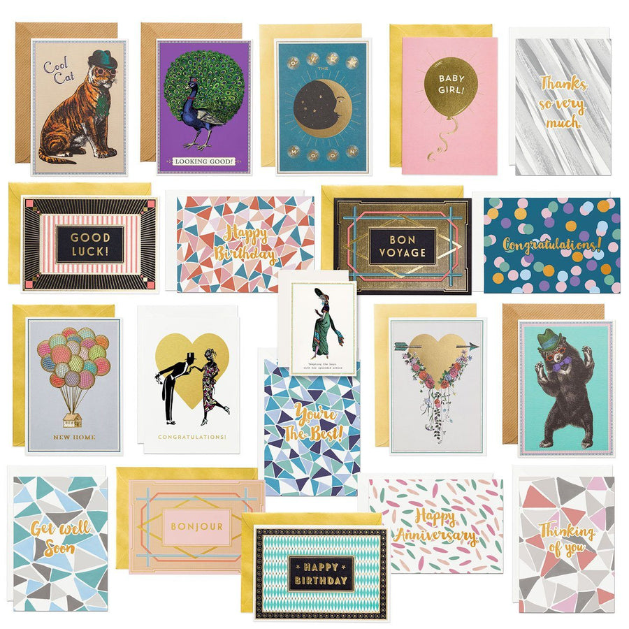 Greeting Card bundle (20 Cards) - Chase and Wonder - Proudly Made in Britain