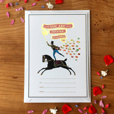 Horse Rider Invitation - Chase and Wonder - Proudly Made in Britain