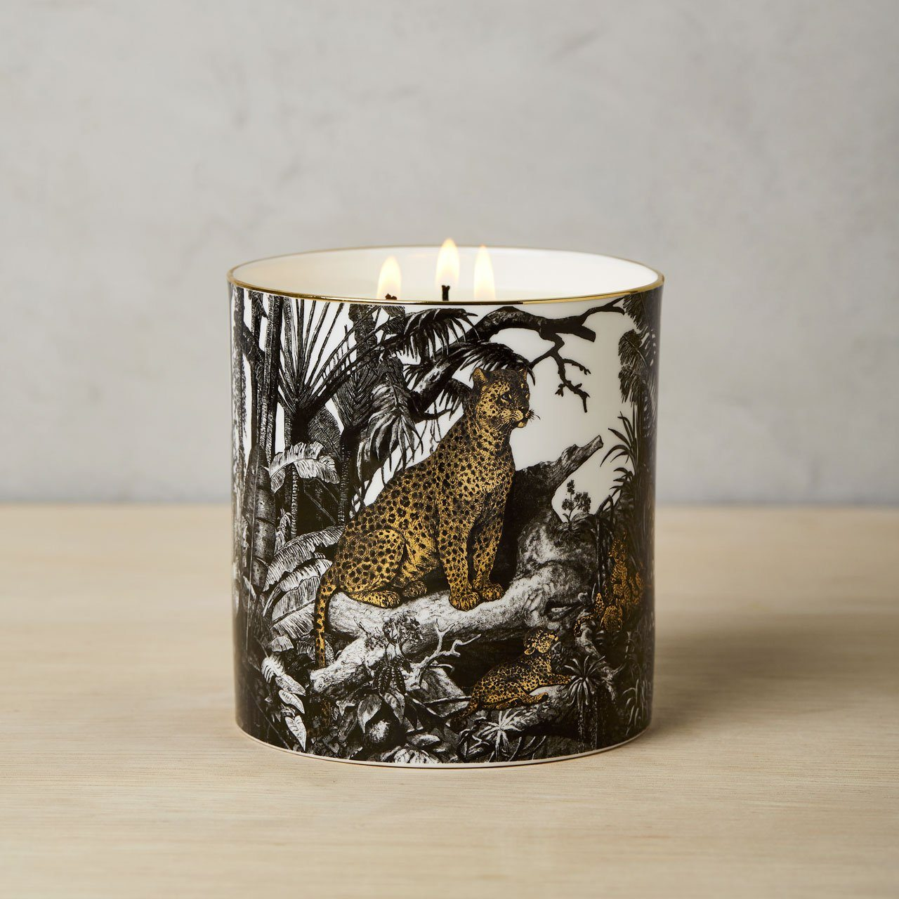 The Jungle 3 Wick Scented Ceramic Candle - Chase and Wonder - Proudly Made in Britain