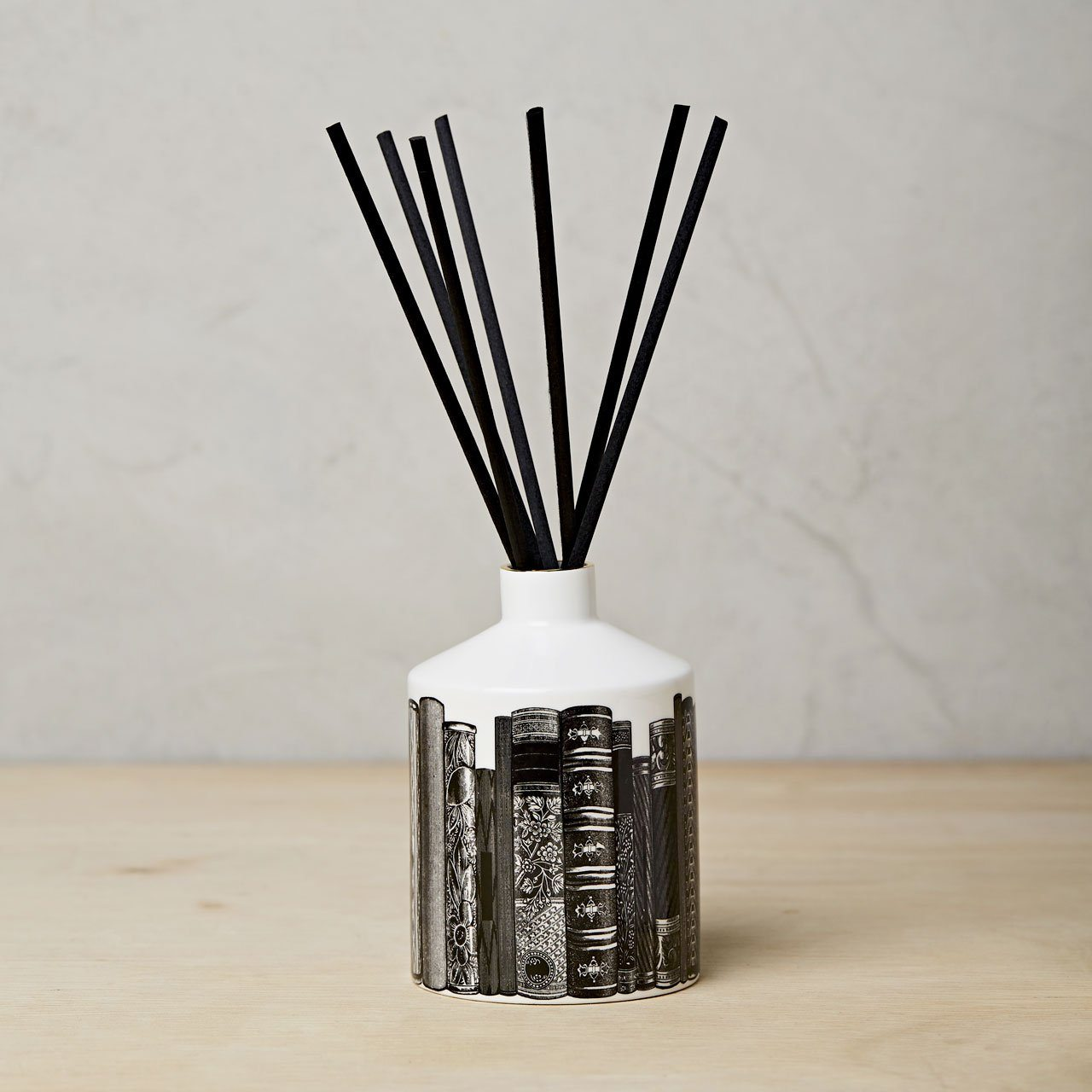 The Library Ceramic Diffuser - Chase and Wonder - Proudly Made in Britain