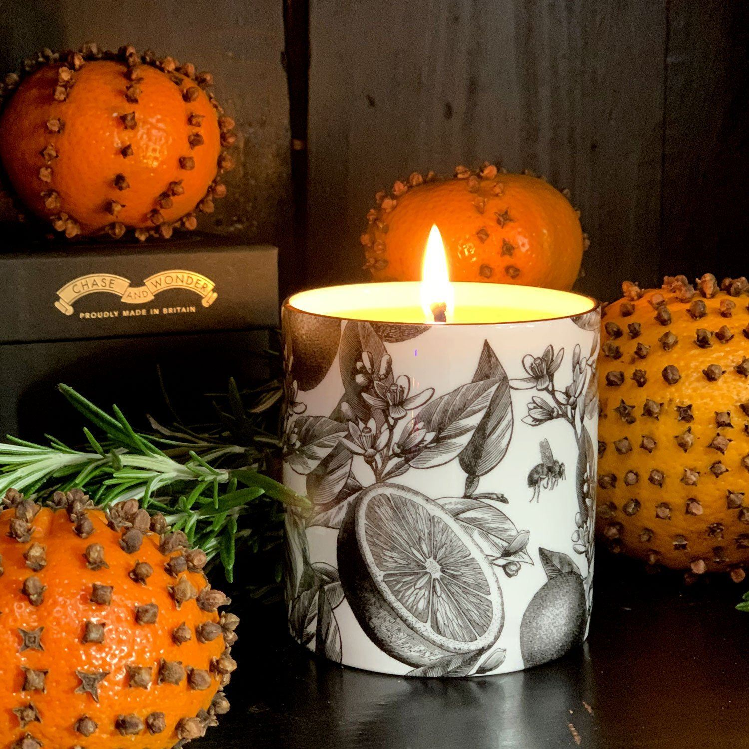 The Orangery Ceramic Candle - Chase and Wonder - Proudly Made in Britain