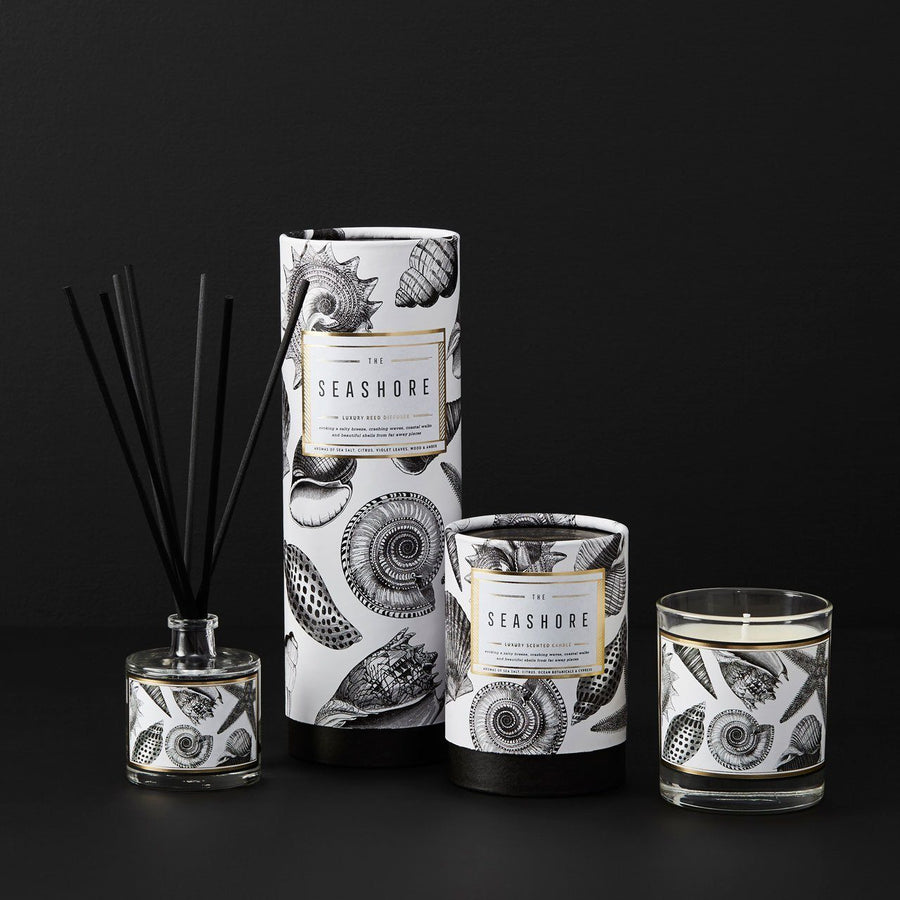The Seashore Scented Candle - Chase and Wonder - Proudly Made in Britain