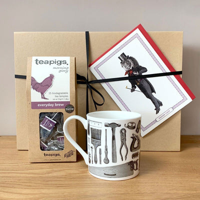 The DIY Dad Tea Gift Set - Chase and Wonder - Proudly Made in Britain