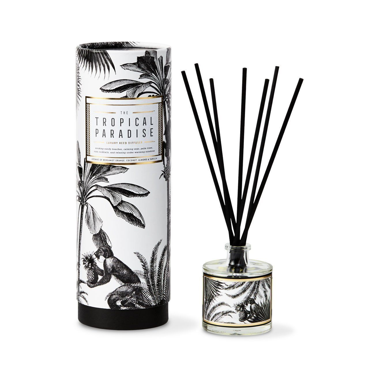The Tropical Paradise Reed Diffuser - Chase and Wonder - Proudly Made in Britain