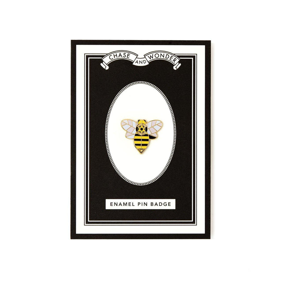 Bee Enameled Pin Badge
