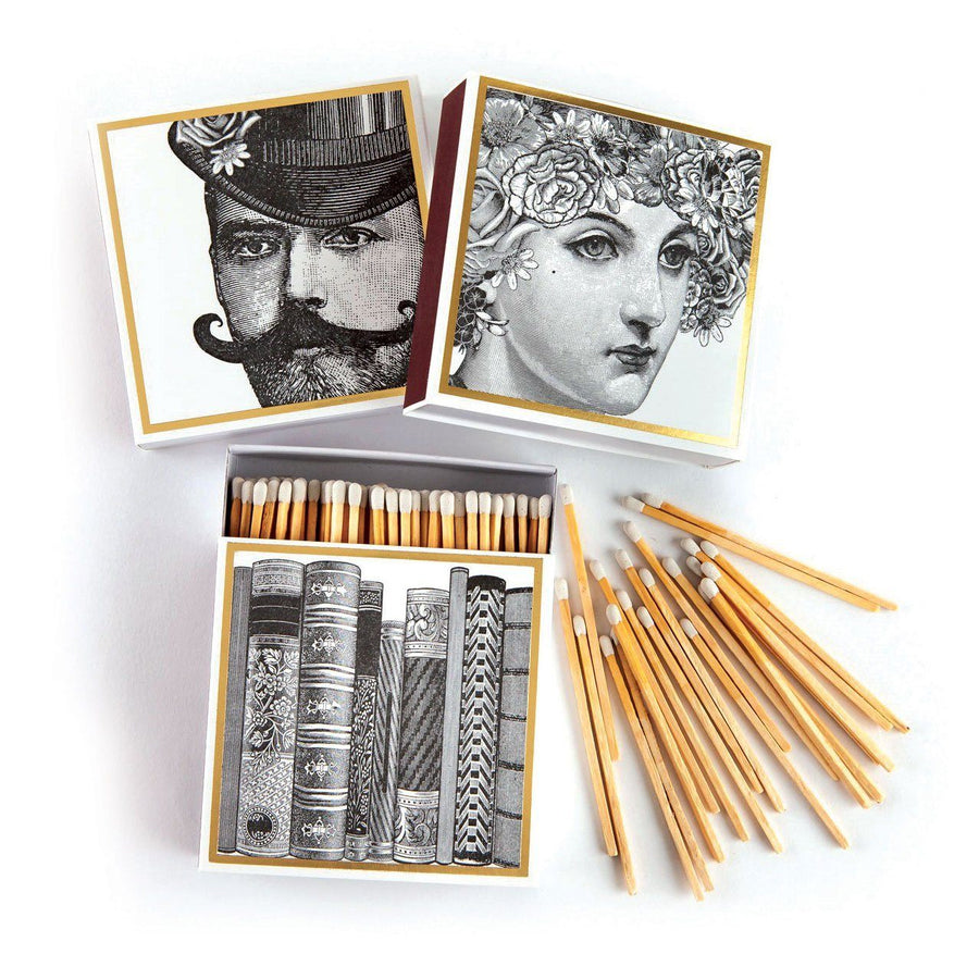 Flower Lady Luxury Matches - Chase and Wonder - Proudly Made in Britain