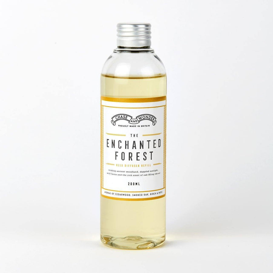 The Enchanted Forest Reed Diffuser Refill (Slight Second) - Chase and Wonder - Proudly Made in Britain