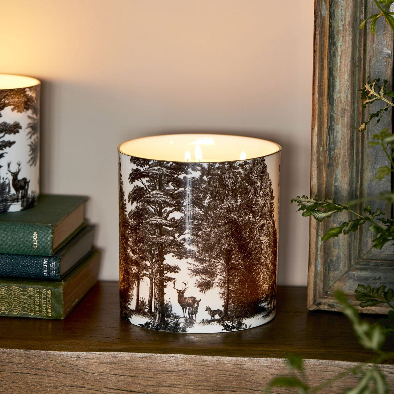 The Enchanted Forest 3 Wick Scented Ceramic Candle - Chase and Wonder - Proudly Made in Britain