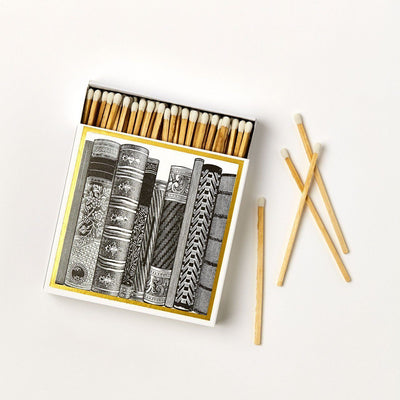 Library Luxury Matches - Chase and Wonder - Proudly Made in Britain