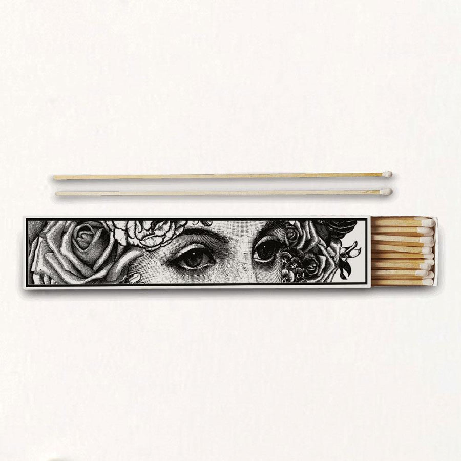 The Flower Lady Luxury Long Matches - Chase and Wonder - Proudly Made in Britain