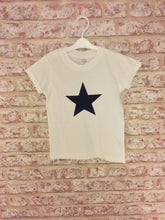Short rolled sleeved Star T-Shirt