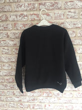 Black Bat-Mask Jumper