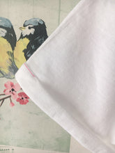 NEW Bright Flamingo T-Shirt, White, Rolled Sleeved 'Stand Out'