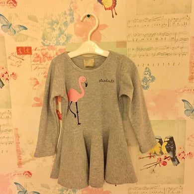 Grey Swing T-Shirt Dress