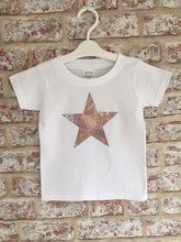 Silver Sparkle Star T-Shirt