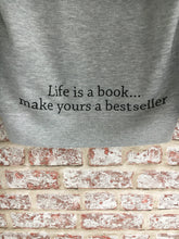 Adult Life Is A Book Hoody