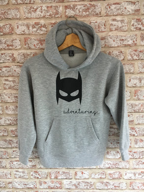 Children's Bat-Mask Hoody