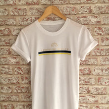 Strong Mums Club Stripe T-Shirt