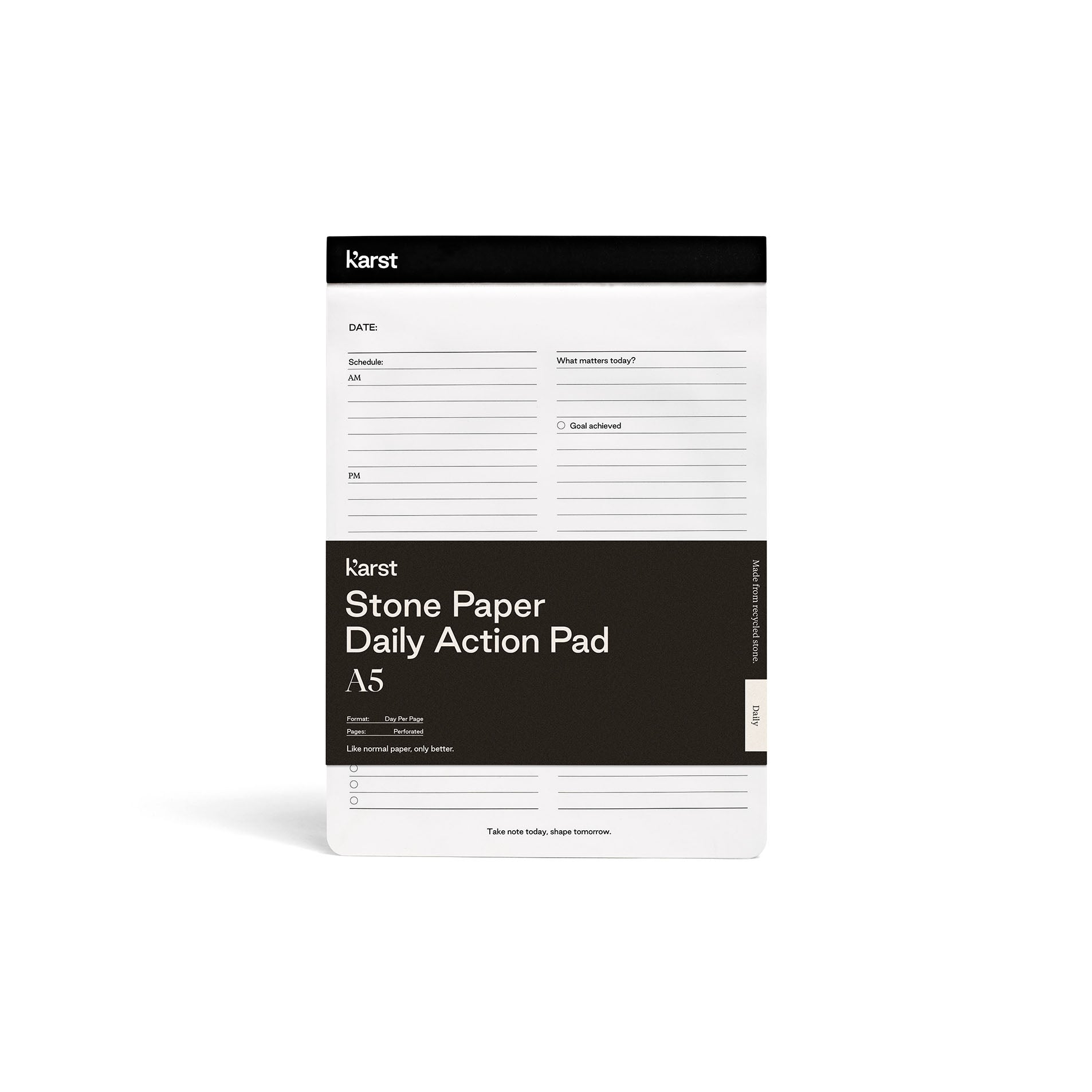 Daily Action Pad A5