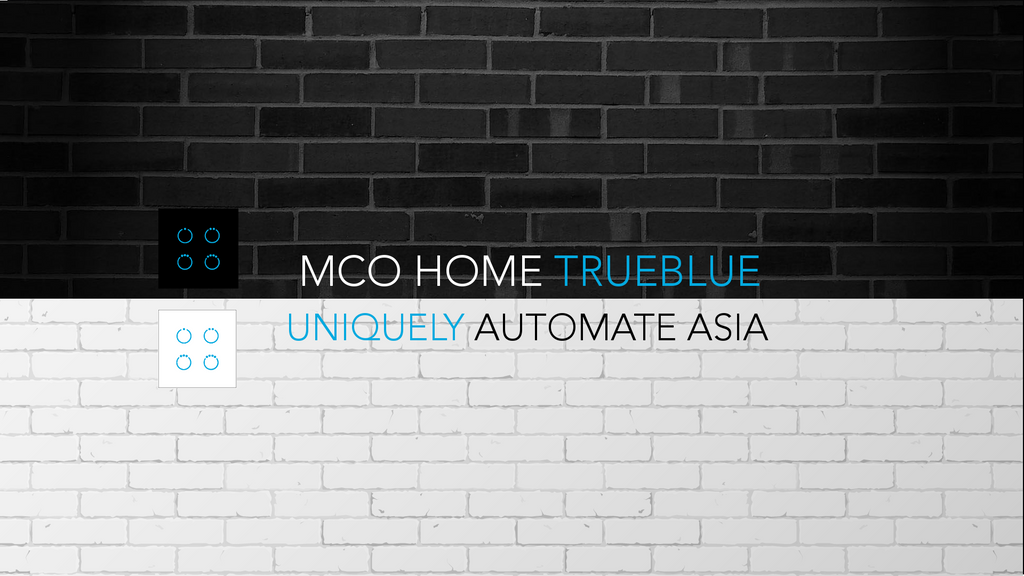 Truly blue MCOHome Touch Panels