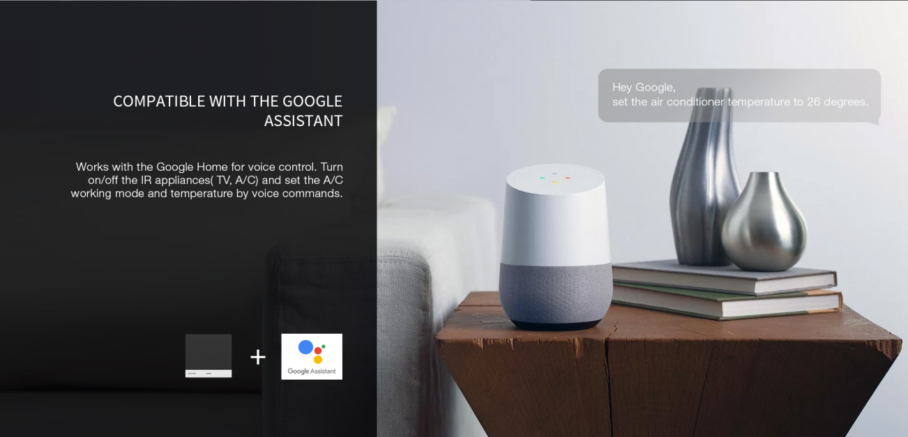 Orvibo Works with Google Home