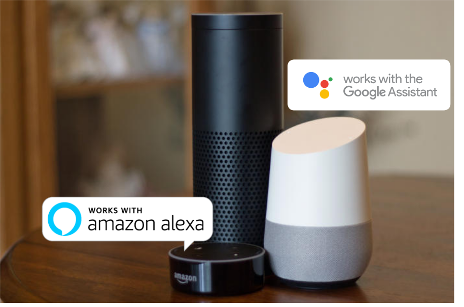 Orvibo WOrks with Amazon Echo and Google Home