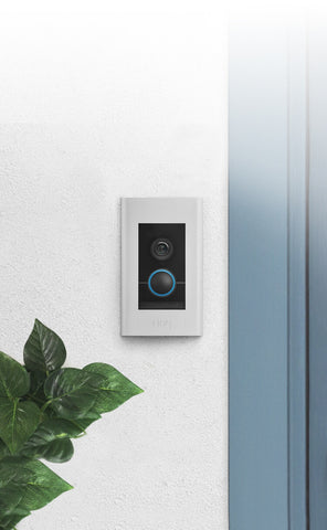 Ring Video Doorbell Elite at Main Door