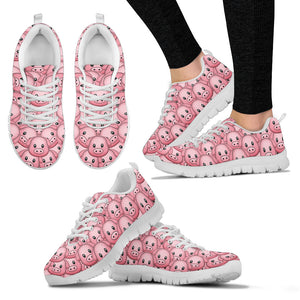 Women's Piggy Sneakers