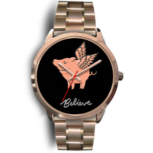 Believe Rose Gold Watch