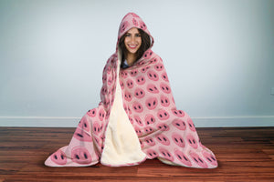 Pig Snout Hooded Blanket