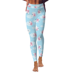 Pigs Can Fly Women's Yoga Leggings