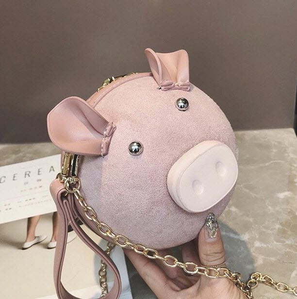 """OINK"" Piggy Purse"