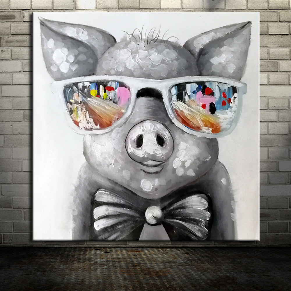 Piggy Canvas Painting (NEW DESIGN)