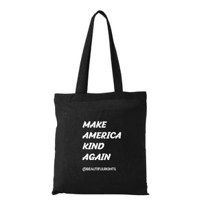 MAKE AMERICA KIND AGAIN COTTON TOTE