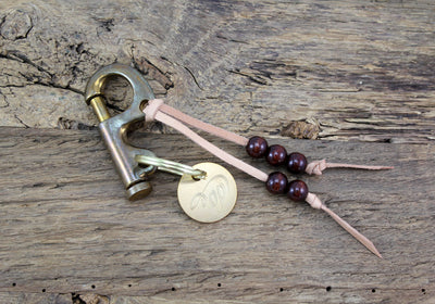 Brass Key Clip - oldpassion - from prison with love