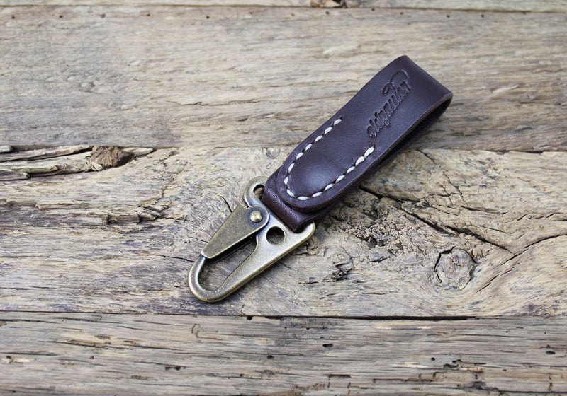 Leather Key Clip - oldpassion - from prison with love