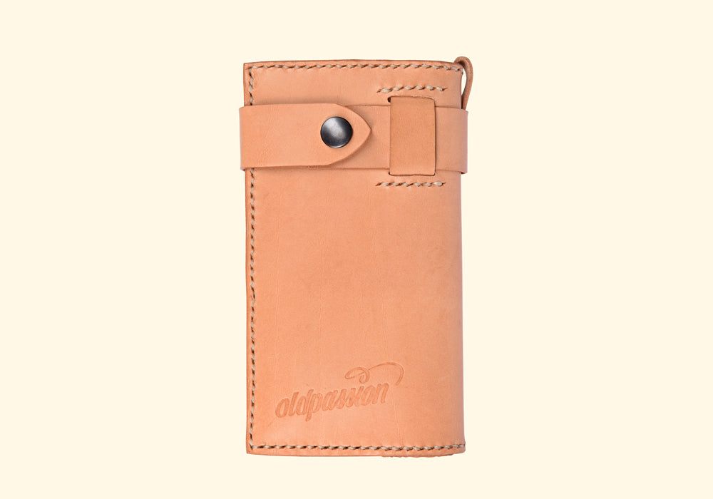 long wallet • Maximum Style Portemonnaie • pflanzlich gegerbtes Leder • oldpassion