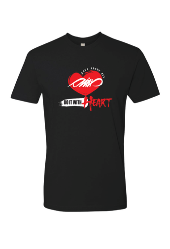 DO IT WITH HEART T (Black)