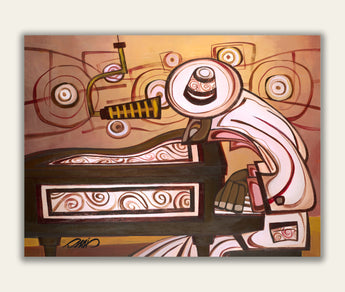PIANO JAZZ - Limited Archival Print
