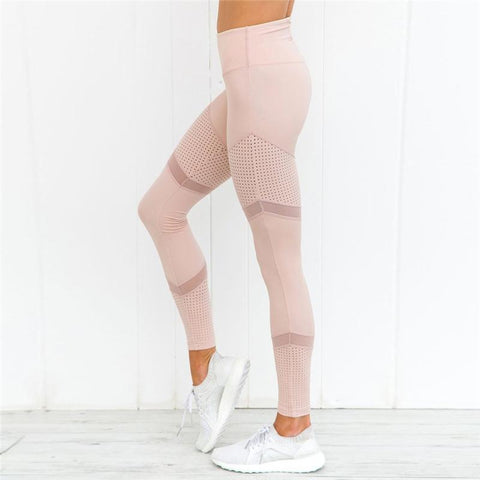 Pink Mesh - Tights - John Megir