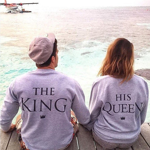The King & His Queen - Sweatshirt - John Megir