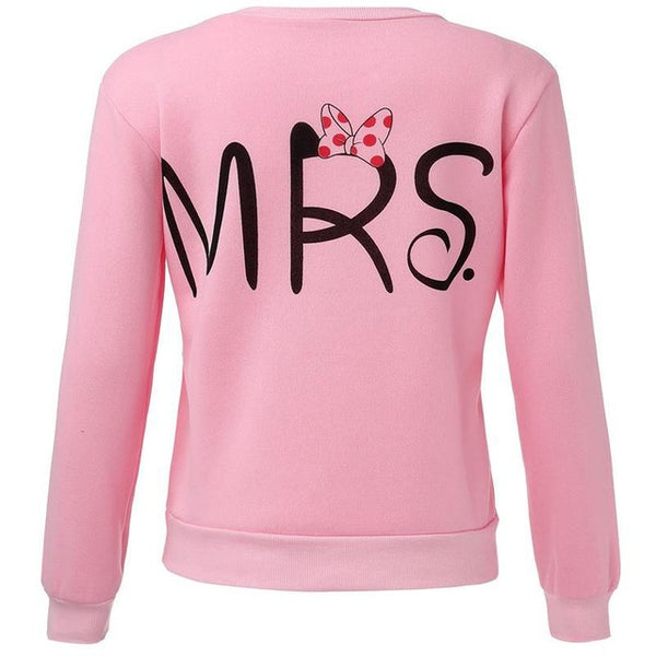 Mr & Mrs - Sweatshirt - John Megir