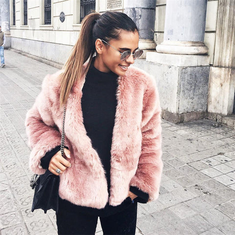 Boho Faux Fur - Jacket