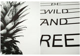 BE WILD AND FREE - POSTER - John Megir