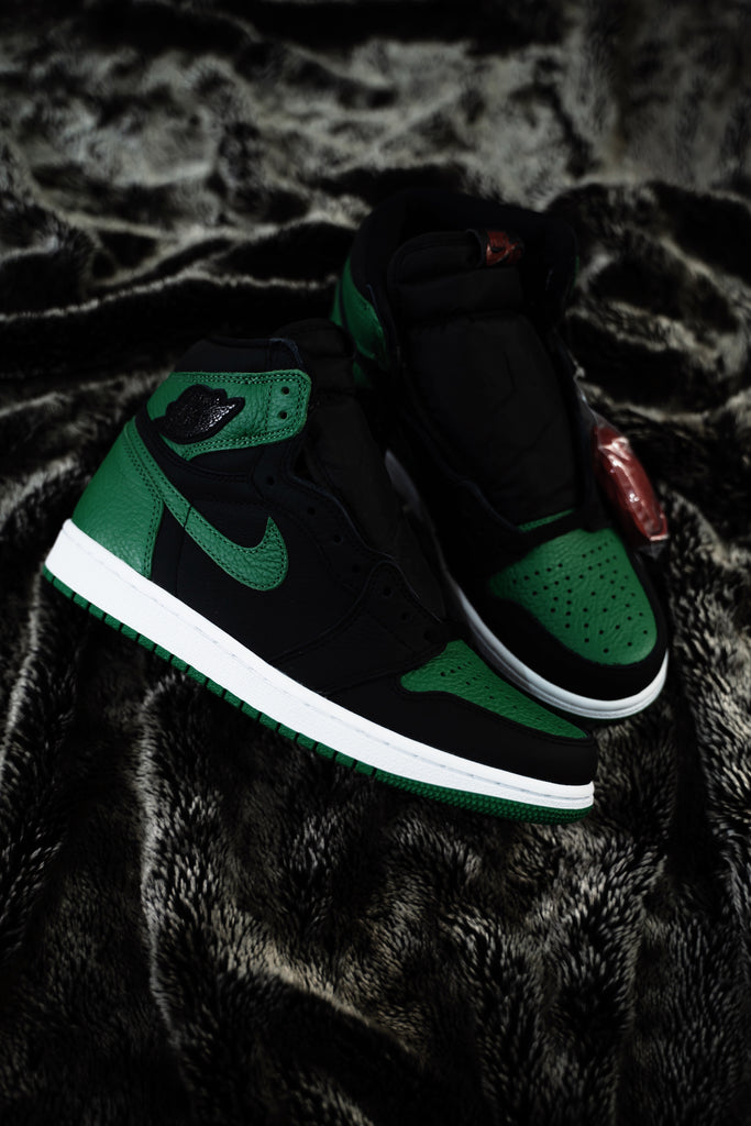 Air Jordan 1 Retro high Pine Green/Black