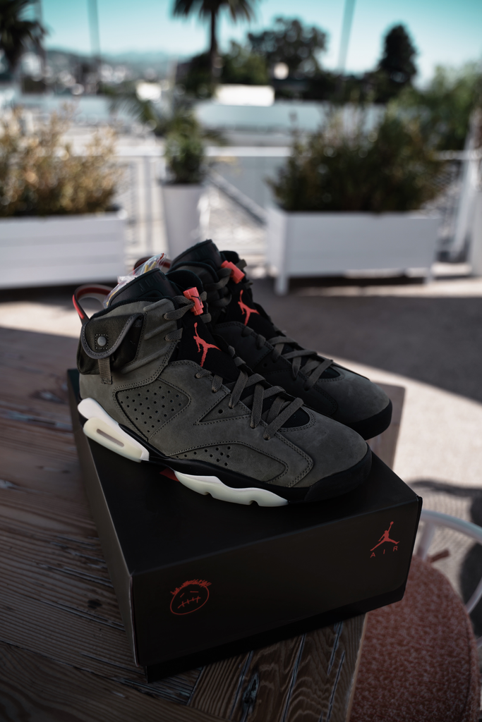 Air Jordan 6 Cactus Jack Retro Travis Scott