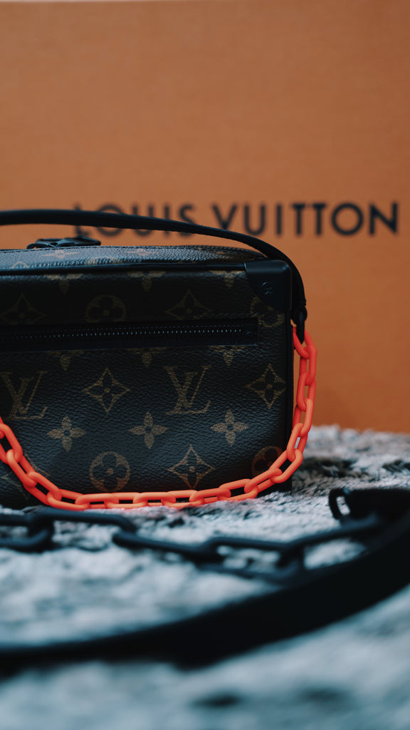 Louis Vuitton Mini Soft Trunk Monogram Brown/Orange (Conditional)