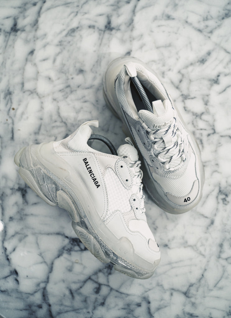 Balenciaga Triple S Clear Sole trainer
