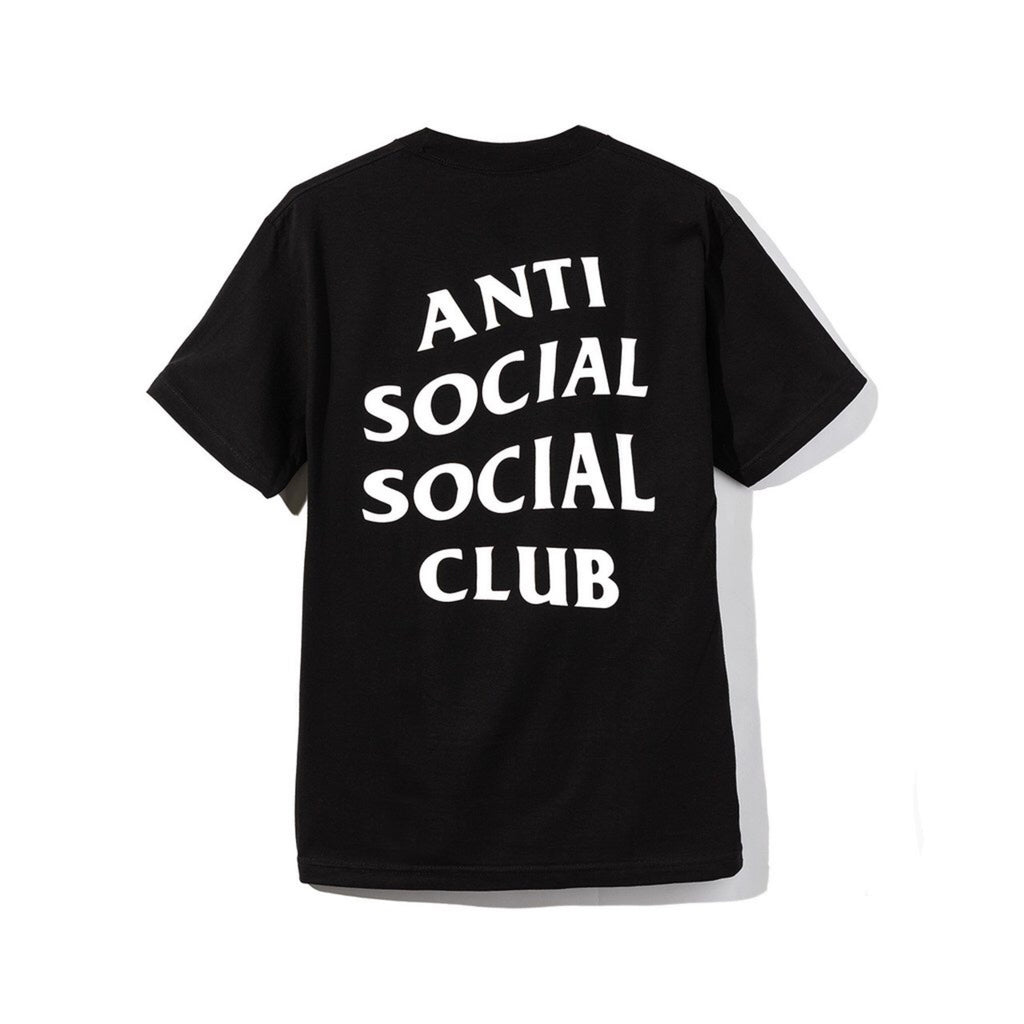 Anti Social Social Club Black ASSC LOGO T- Shirt